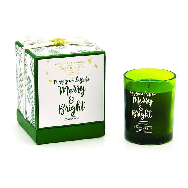 Merry & Bright 190G Soy Candle - Total Wellness & Secret Wishes