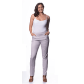 Corfu Easy Living Cotton Stretch Sateen Pant Titanium