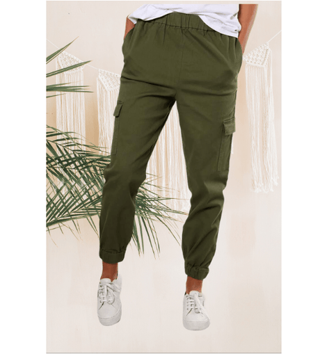 Take Charge Cargo Pant Olive