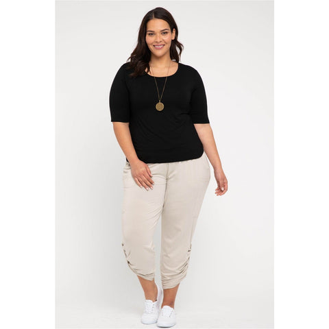 Bamboo Body Pocket Pants Bone