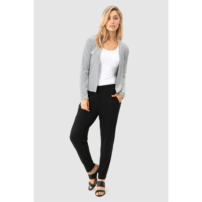 Peggy Bamboo Trouser Black - Total Wellness & Secret Wishes