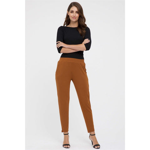 Bamboo Body Peggy Trouser Ginger