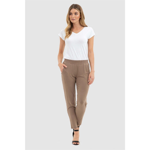 Bamboo Body Peggy Pants Mocha