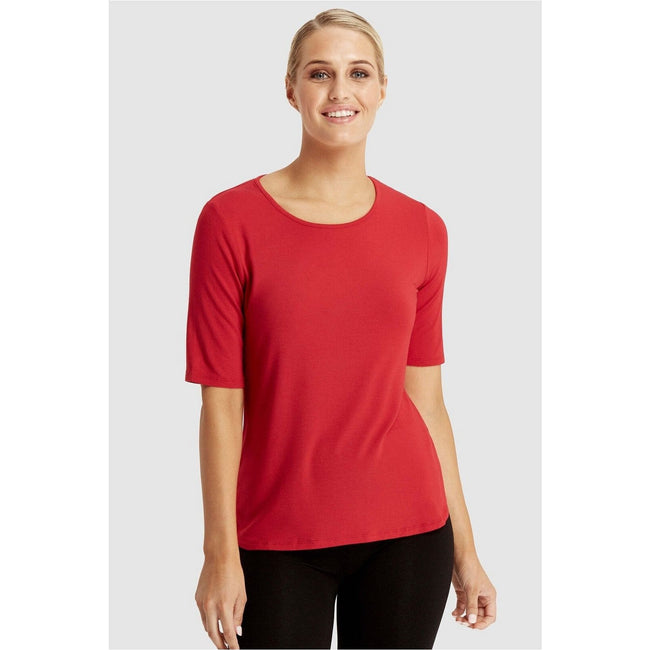 Bamboo Sophie Top red - Total Wellness & Secret Wishes