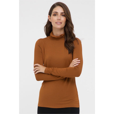 Bamboo Turtle Neck Top