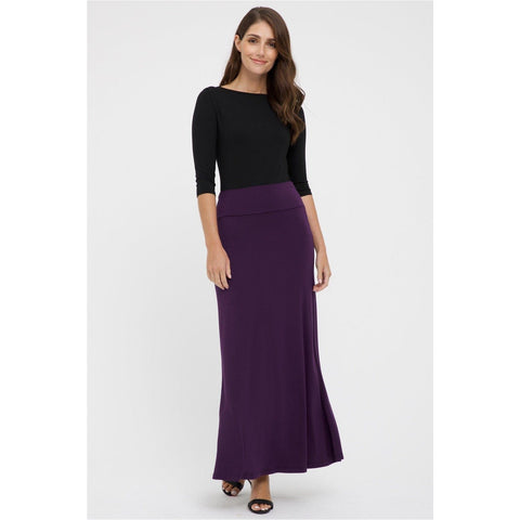 Bamboo body Lana Bamboo Skirt Plum