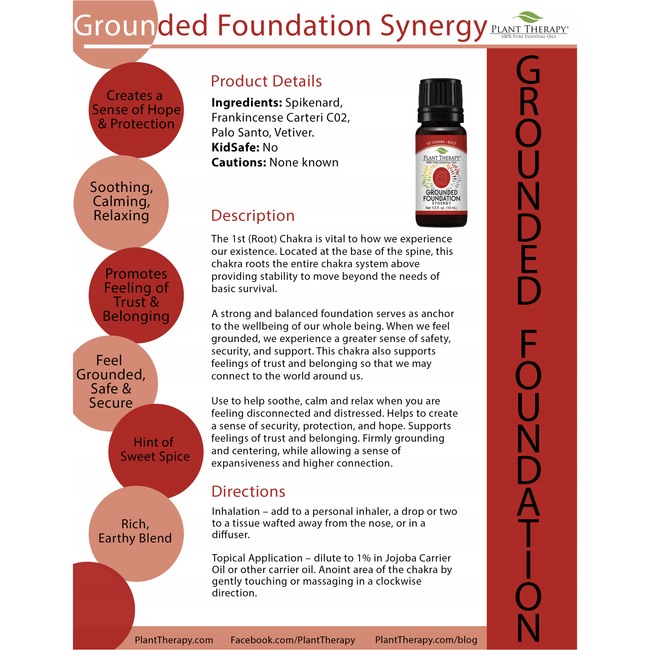 Grounded Foundation 10ml - Total Wellness & Secret Wishes