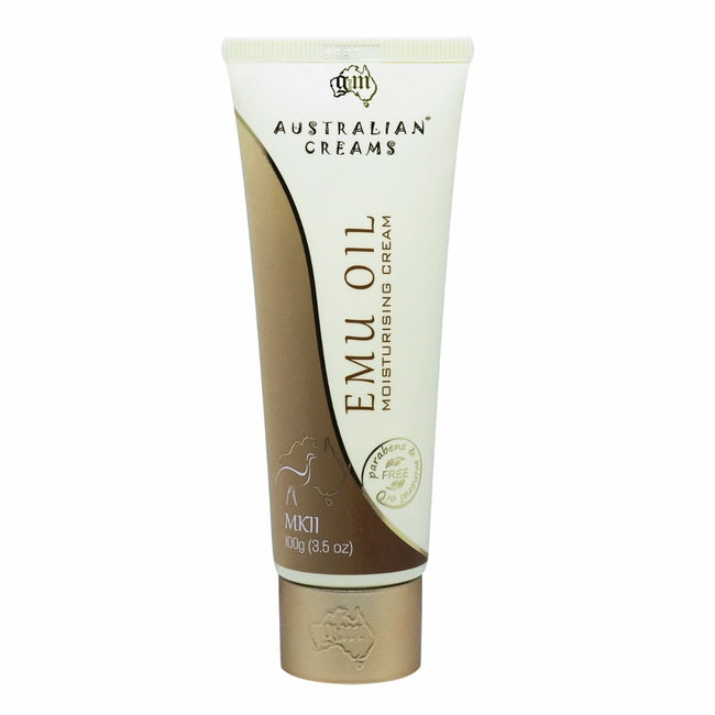 Australian Creams Moisturizing Emu Oil 100g - Total Wellness & Secret Wishes