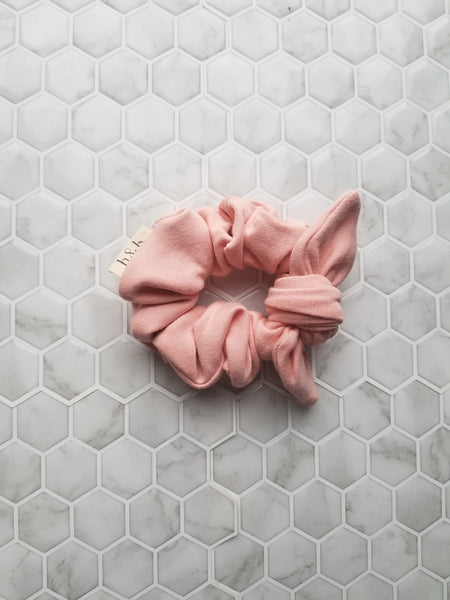 Bamboo French Terry Scrunchie