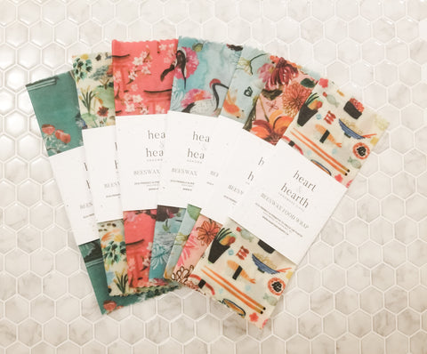 Beeswax Food Wraps - Tokyo Dream