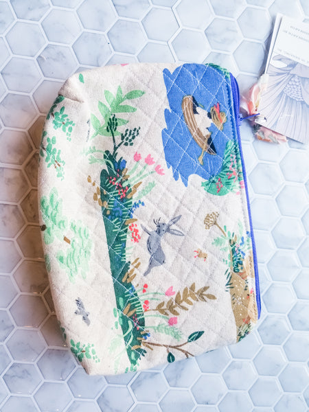 Toiletry Bag - Quilted