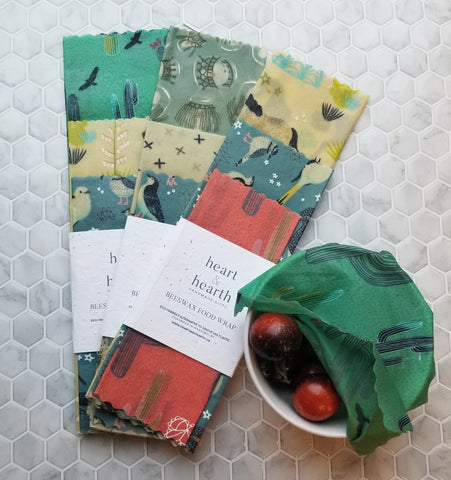 Beeswax Food Wraps - Desert Song