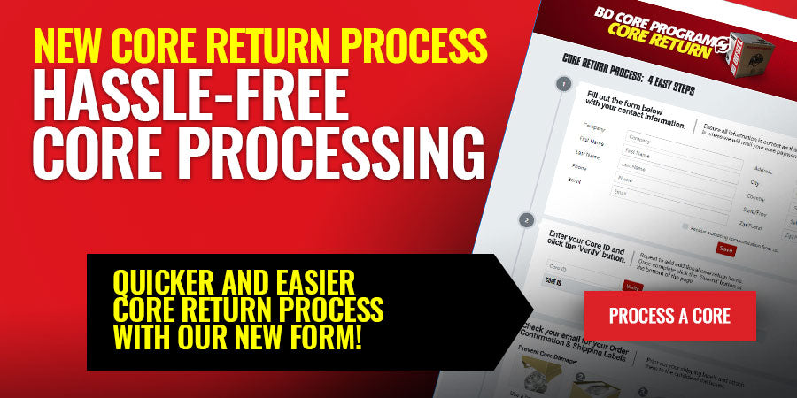 Hassle-Free Core Processing