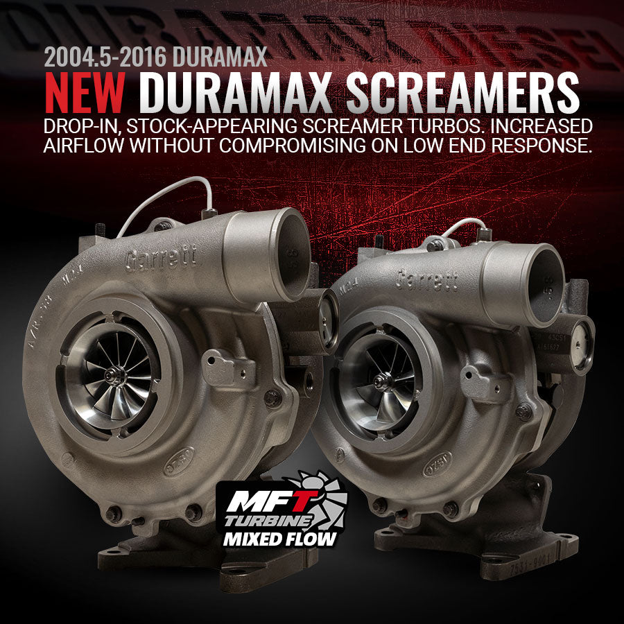 2004.5-2016 Duramax Screamer Drop-In Turbos