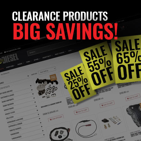 Clearance Products - Big Savings!