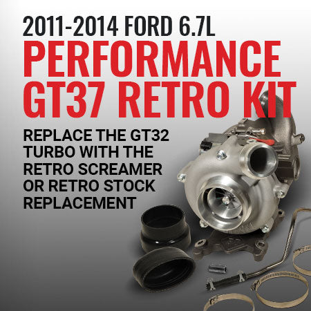 2011-2014 Ford 6.7L Performance GT37 Retro Kit