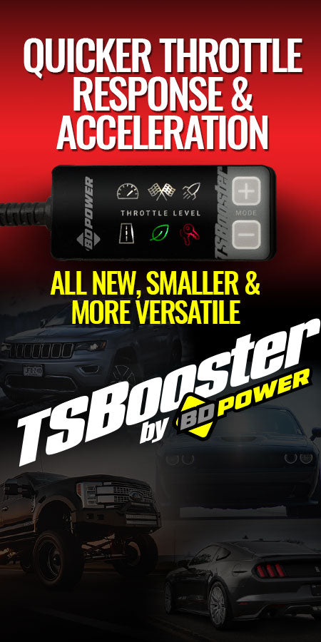 TSBooster - Quicker Throttle Response & Acceleration