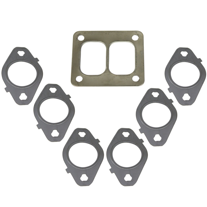 5.9L/6.7L Cummins Exhaust Manifold Gasket Set T4 Mount Dodge 1998.5-2018
