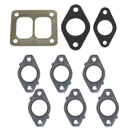 6.7L Cummins Exhaust Manifold Gasket Set T4 Mount Dodge 2007.5-2018