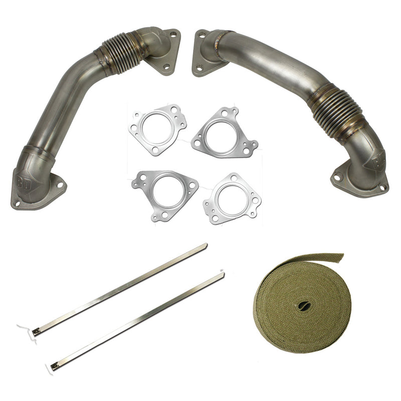 Duramax Up Pipes Kit Chevy/GMC 2001-2004 LB7