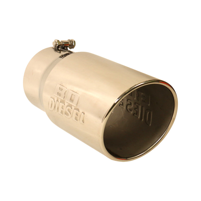 Exhaust Tip, 5in Rolled - Universal Bolt On