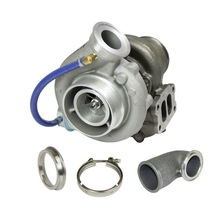 Super B Single SX S358 Turbo Kit w/FMW Billet Wheel Dodge 2003-2004 5.9L