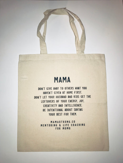 MamaStrong Save It Shopping Bag