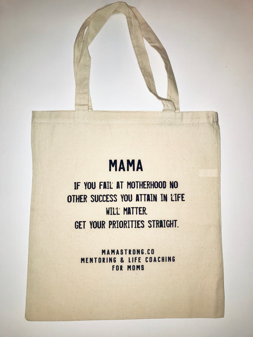 MamaStrong Priorities Bag