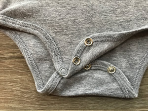 Grey Marle Remarkable Baby Kiwi onesie