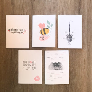 Studio Peers Love Card pack of 5