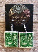 Fantail Stamp Earrings