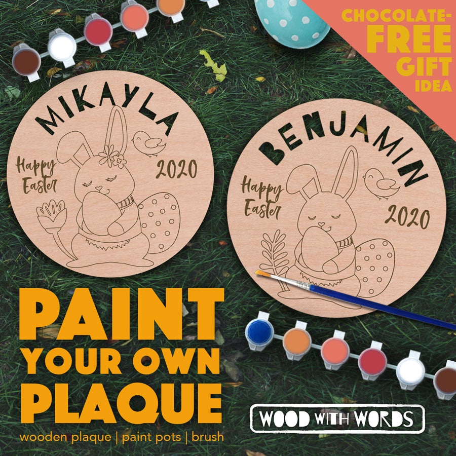 Paint Your Own Easter Plaque