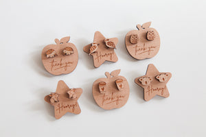 Message Tags for Wooden Studs