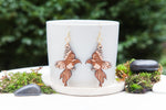 Magpie Dangle Earrings - Wood With Words