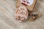 Clip On Bilby Wooden Stud Earrings