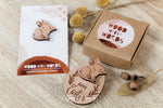 Easter Bilby Wooden Pin - Wood With Words