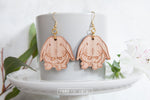 Lop Bunny Wooden Dangle Earrings - Wood With Words