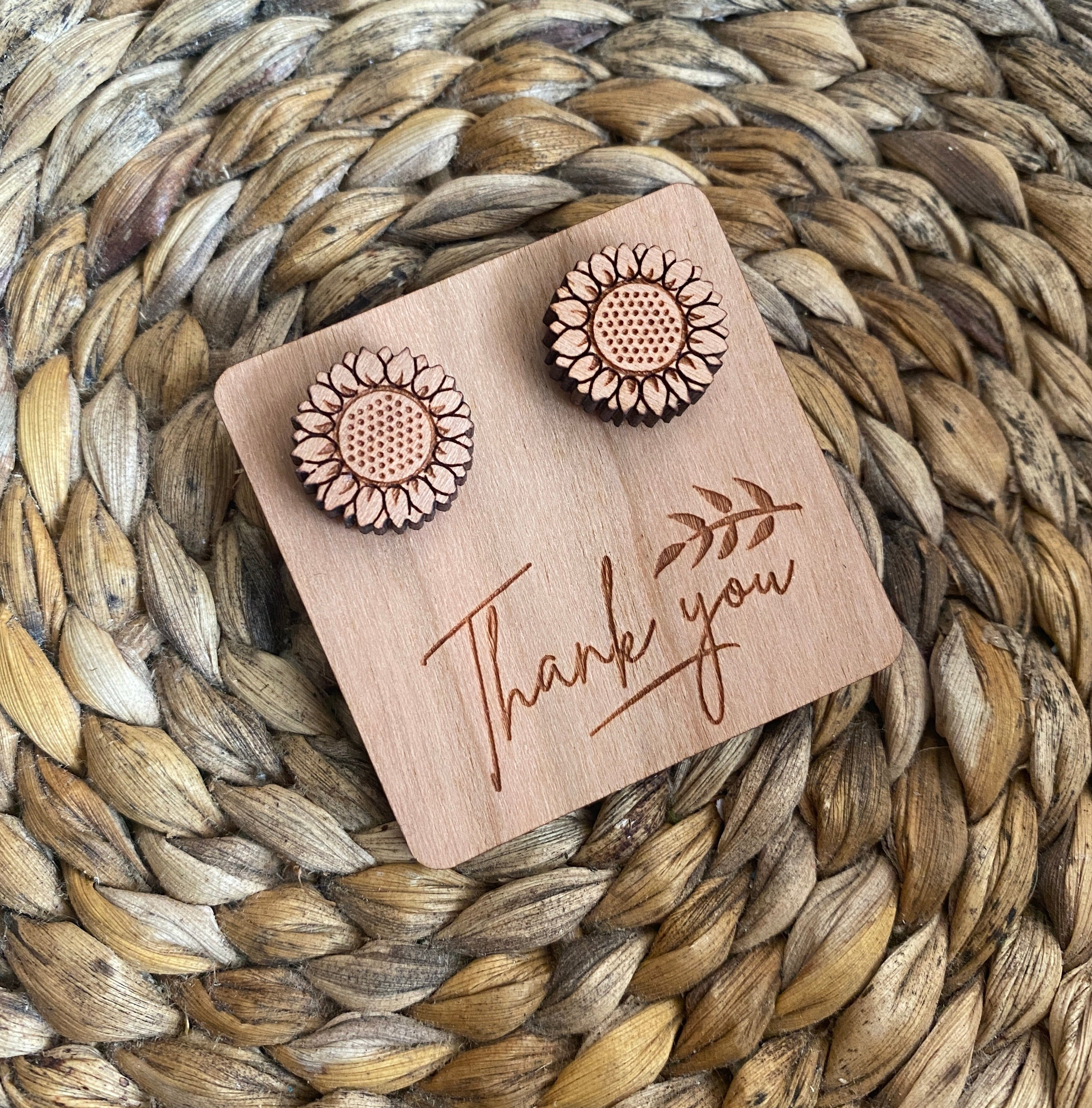 Message Tags for Wooden Studs - Wood With Words