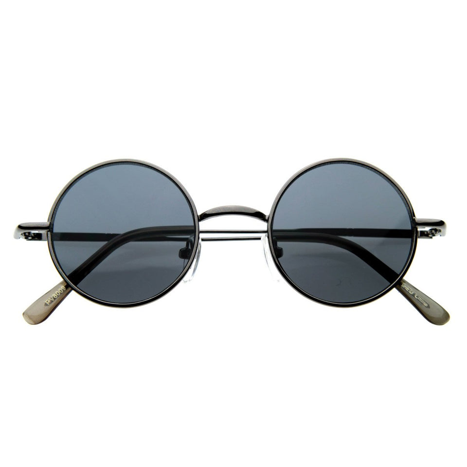 ROUND METAL CIRCLE SUNGLASSES
