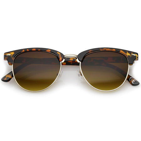 LENS HALF FRAMES SUNGLASSES 49MM