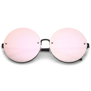 LENS ROUND SUNGLASSES 65MM