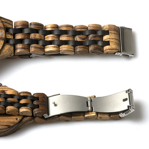 BAND R-87 STRAP WOODEN STYLE