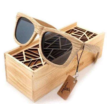 BOBOBIRD AG-007 WOODEN GLASSES