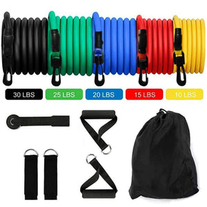 12 PCS Resistance Bands Set