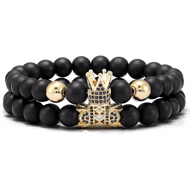 classic ball Bracelet 2 pieces / set