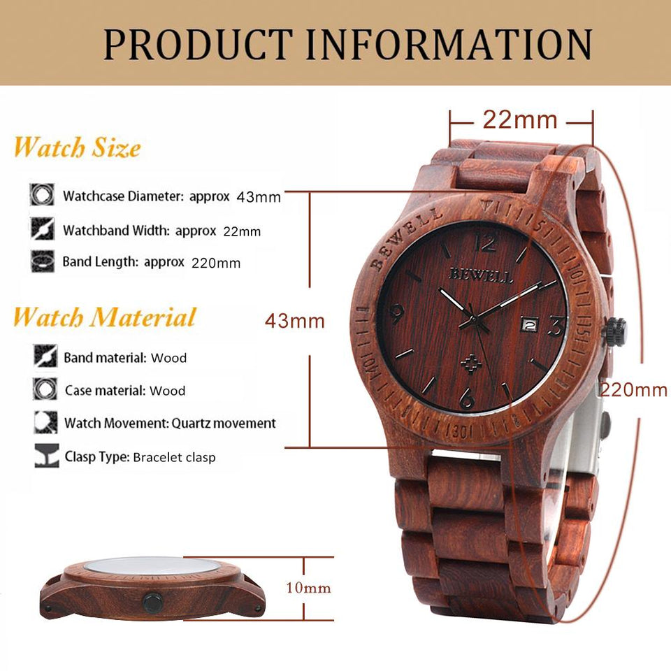 trees wooden watch