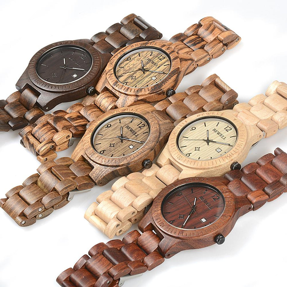 watch trees wooden style