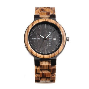 BAND A-004 WOODEN WATCH