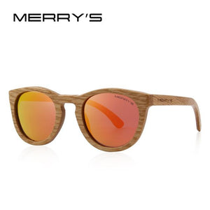 Wooden Retro Sunglasses