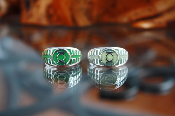 SPECIAL ORDER FOR SAM / GREEN RING GLOW IN THE DARK